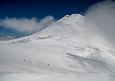 Казбек гора восхождение