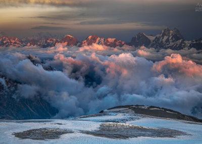 Маршрут на Эльбрус с юга