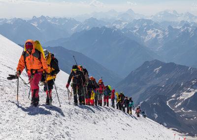 Наши поход на Эльбрус с юга
