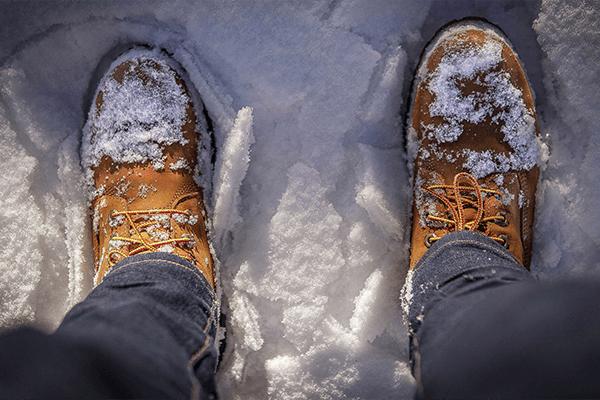 Обувь для похода осенью