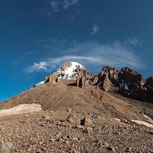 Вершина Казбека фото