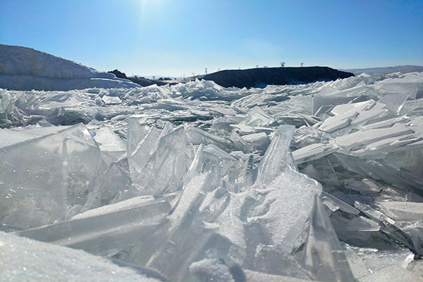 лед Байкал